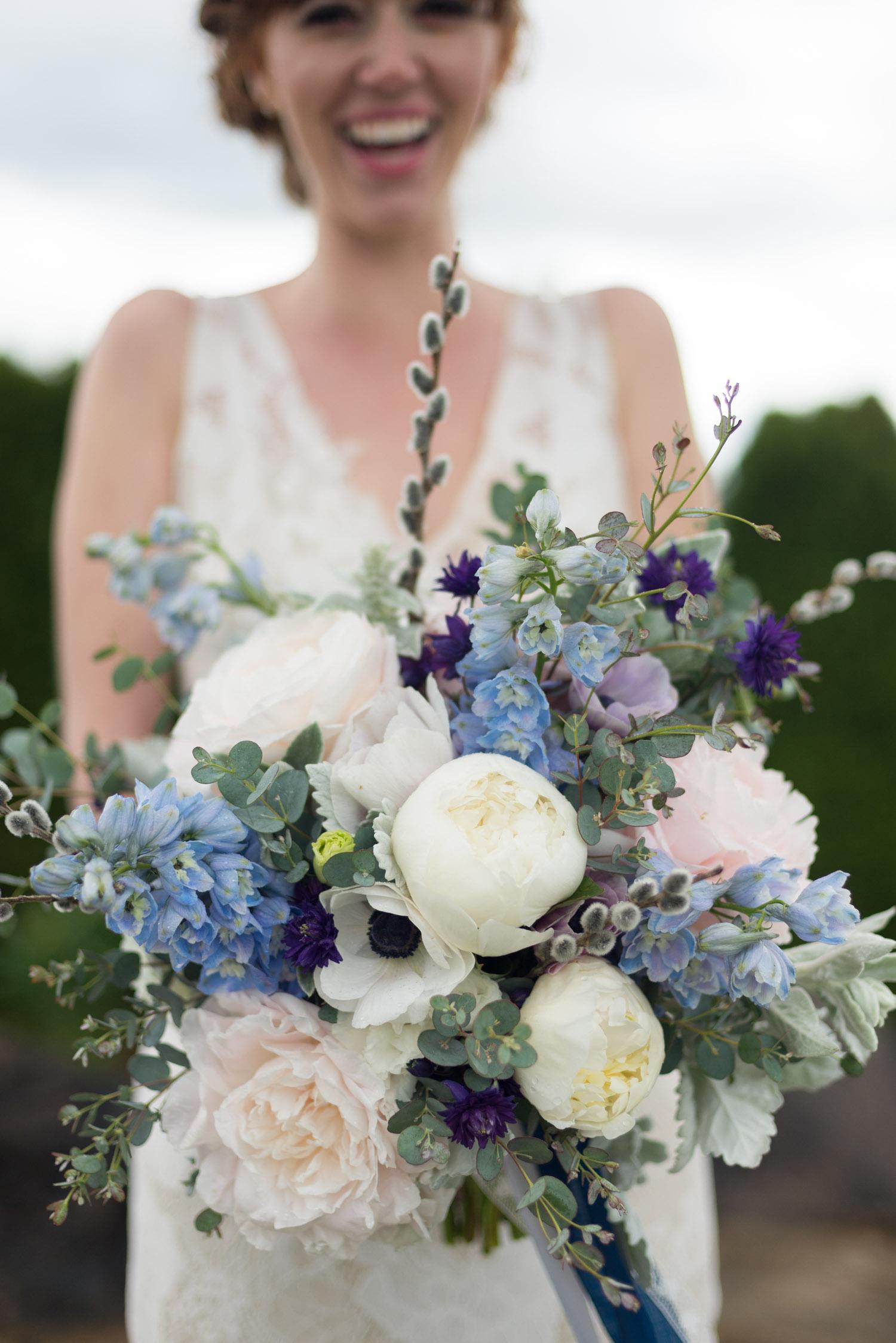 Pacific Northwest Bridal Bouquet