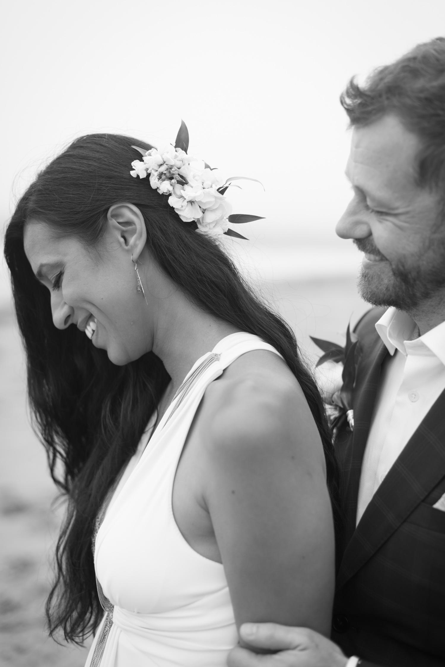 Bohemian wedding on the Washington Coast