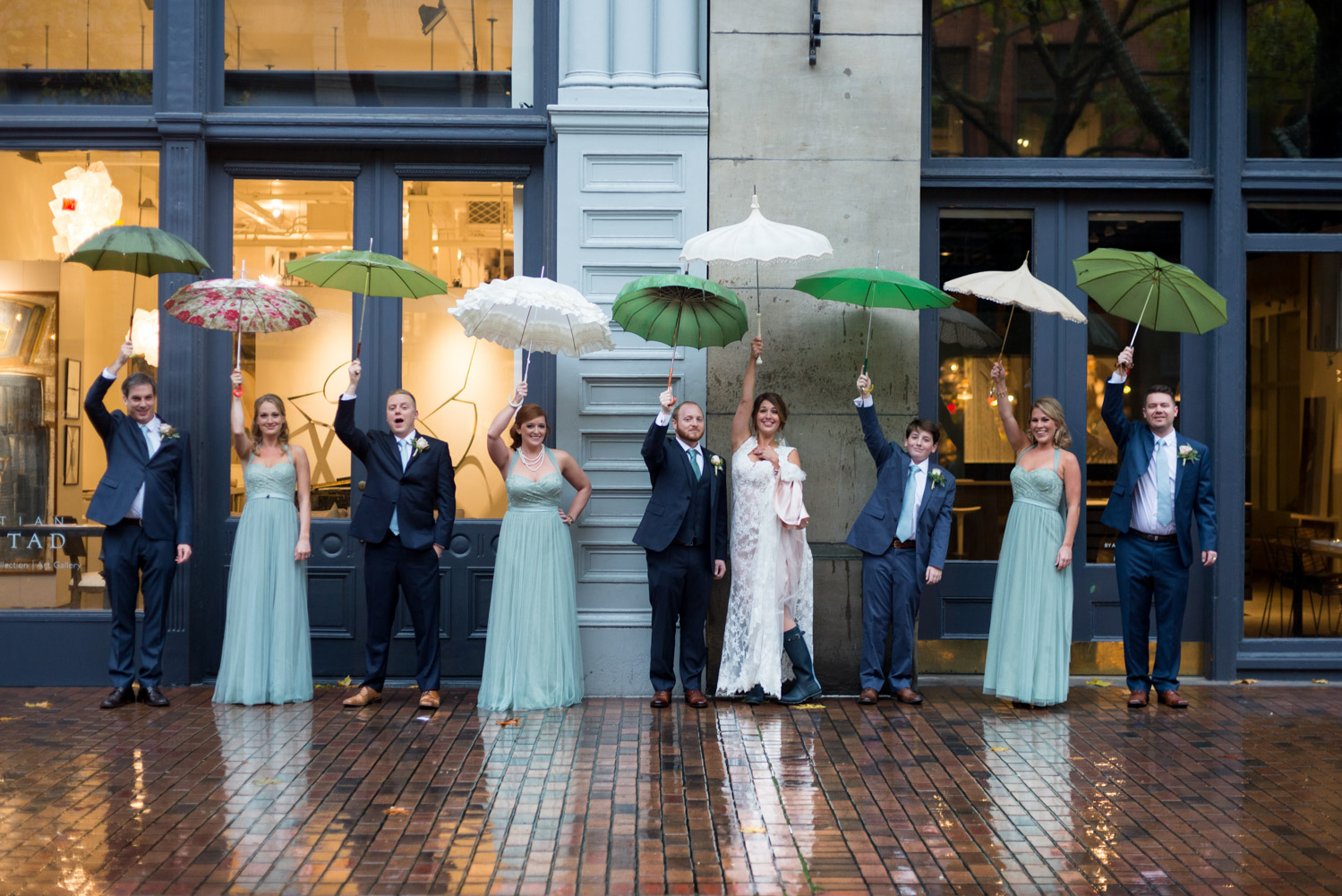 Pioneer Square Wedding Party
