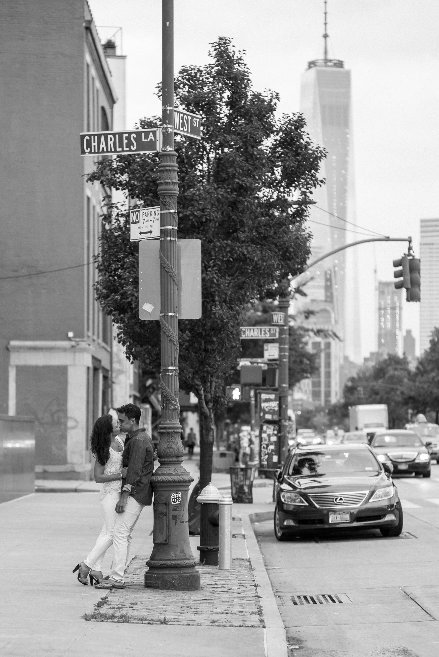 Urban engagment photo session