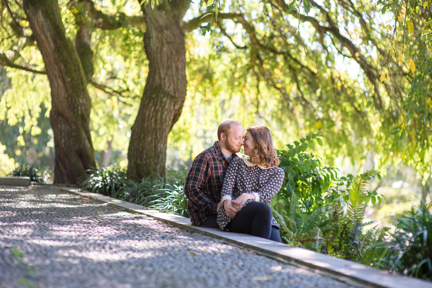 Seattle Volunteer Park Engagement Photography