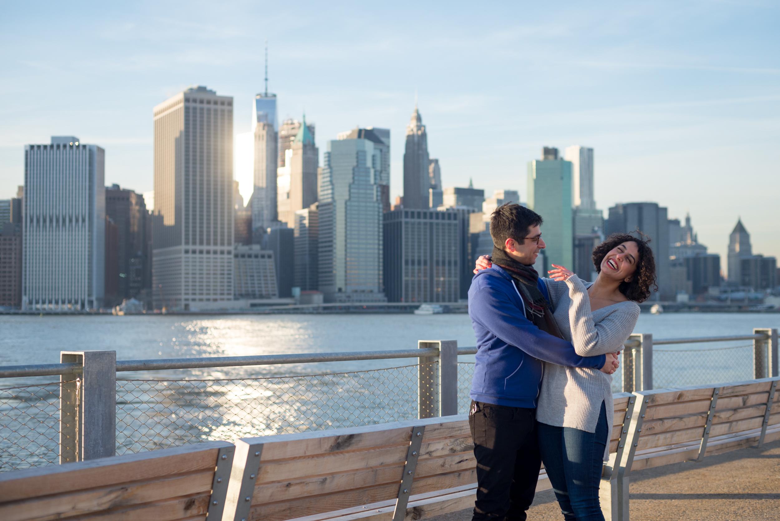 Brooklyn Bridge Park engagement session