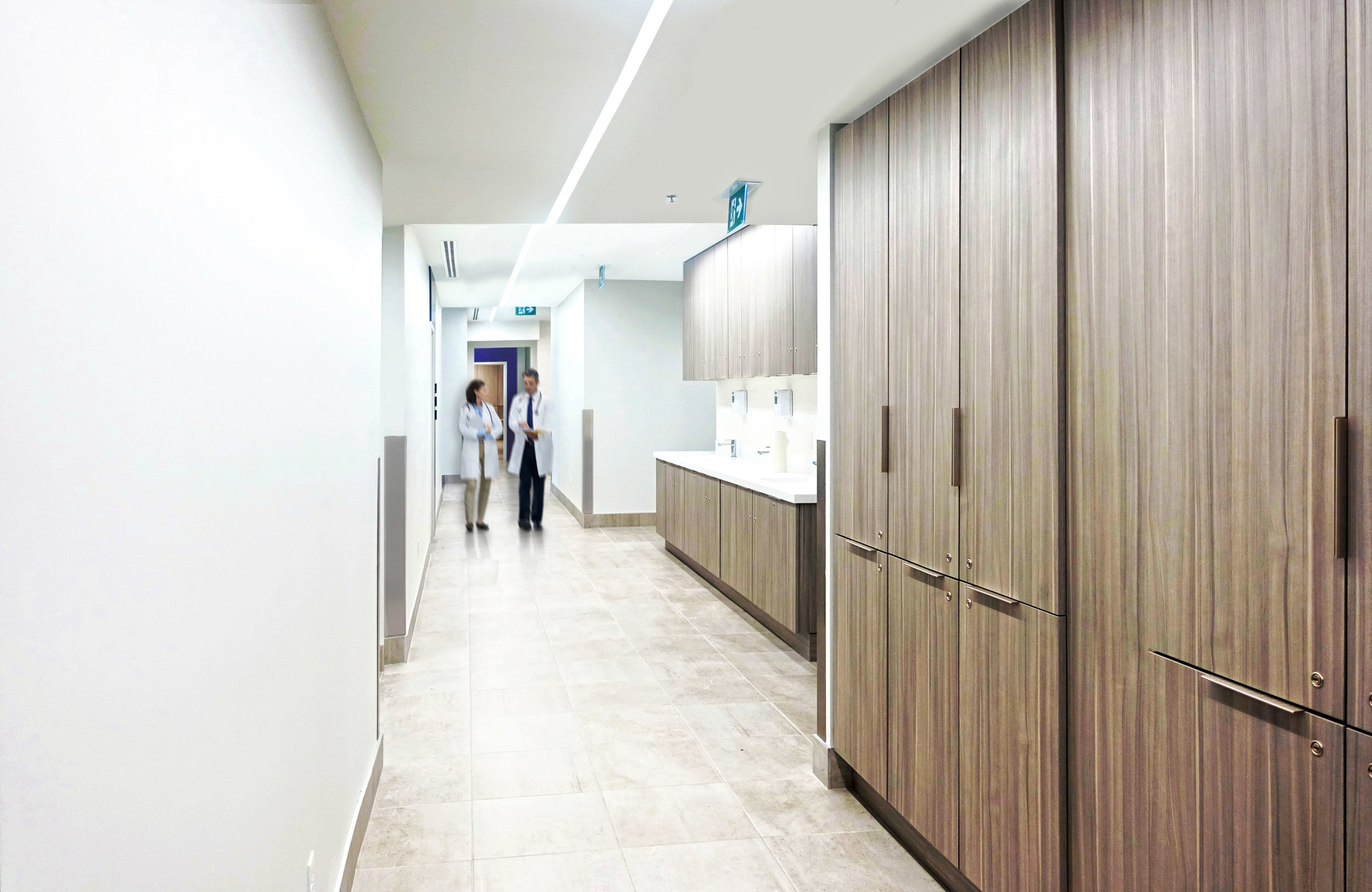 Canada_Toronto_Healthcare_Cardiology_Design_architect_Nurse station corridor.jpg