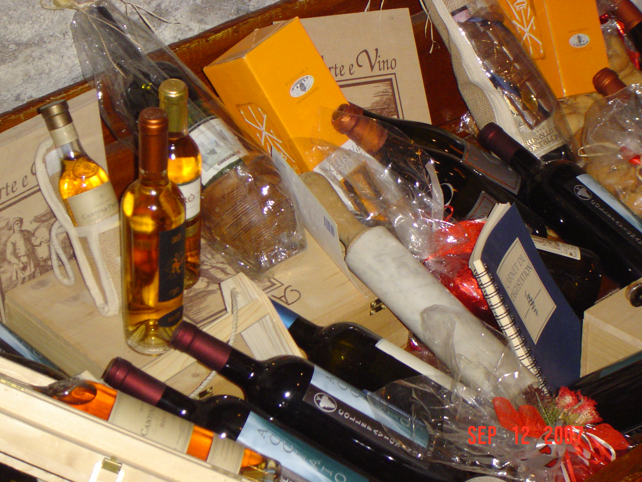 A small family owned wine shop in Castel Gandolfo Italy -