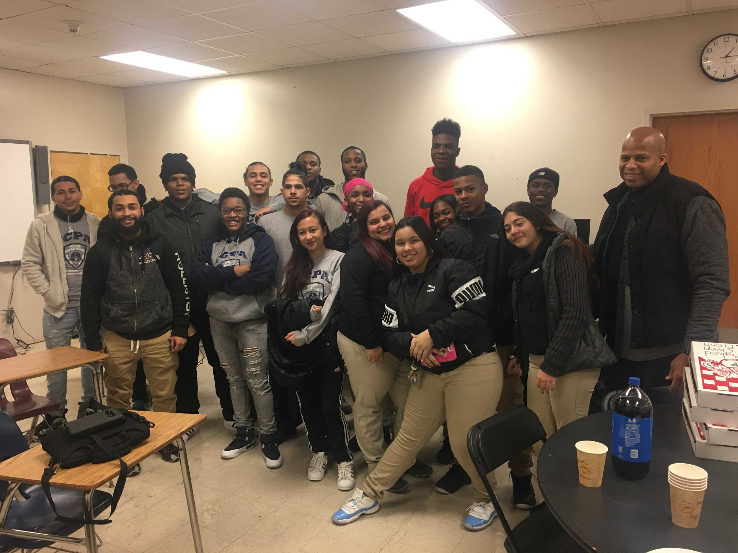 Our friends from the Junior Citizen Police Academy alumni shared their own empowering experiences engaging with police officers.