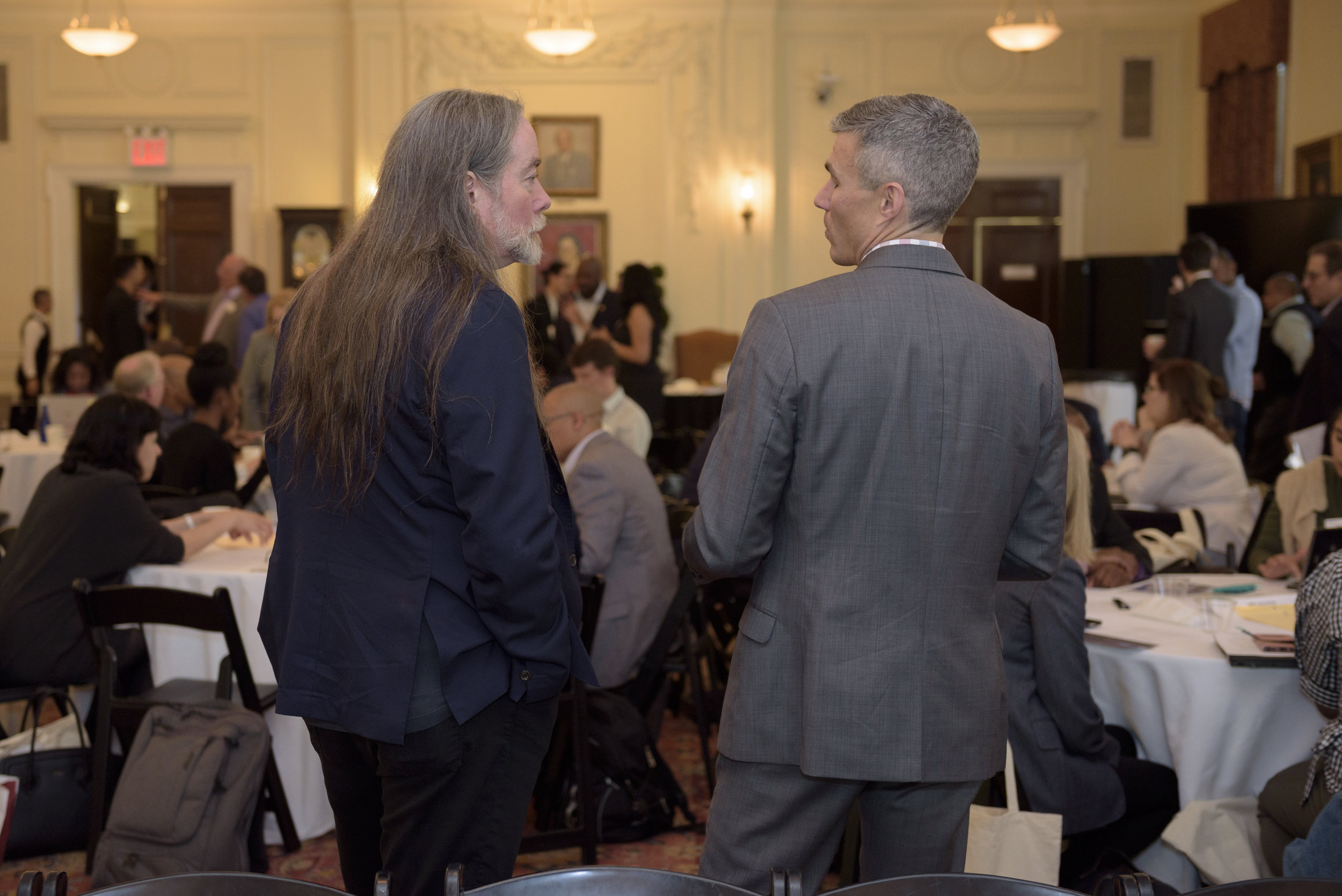 David Kennedy of the National Network for Safe Communities in conversation with Alex Trouteaud of Arnold Ventures.