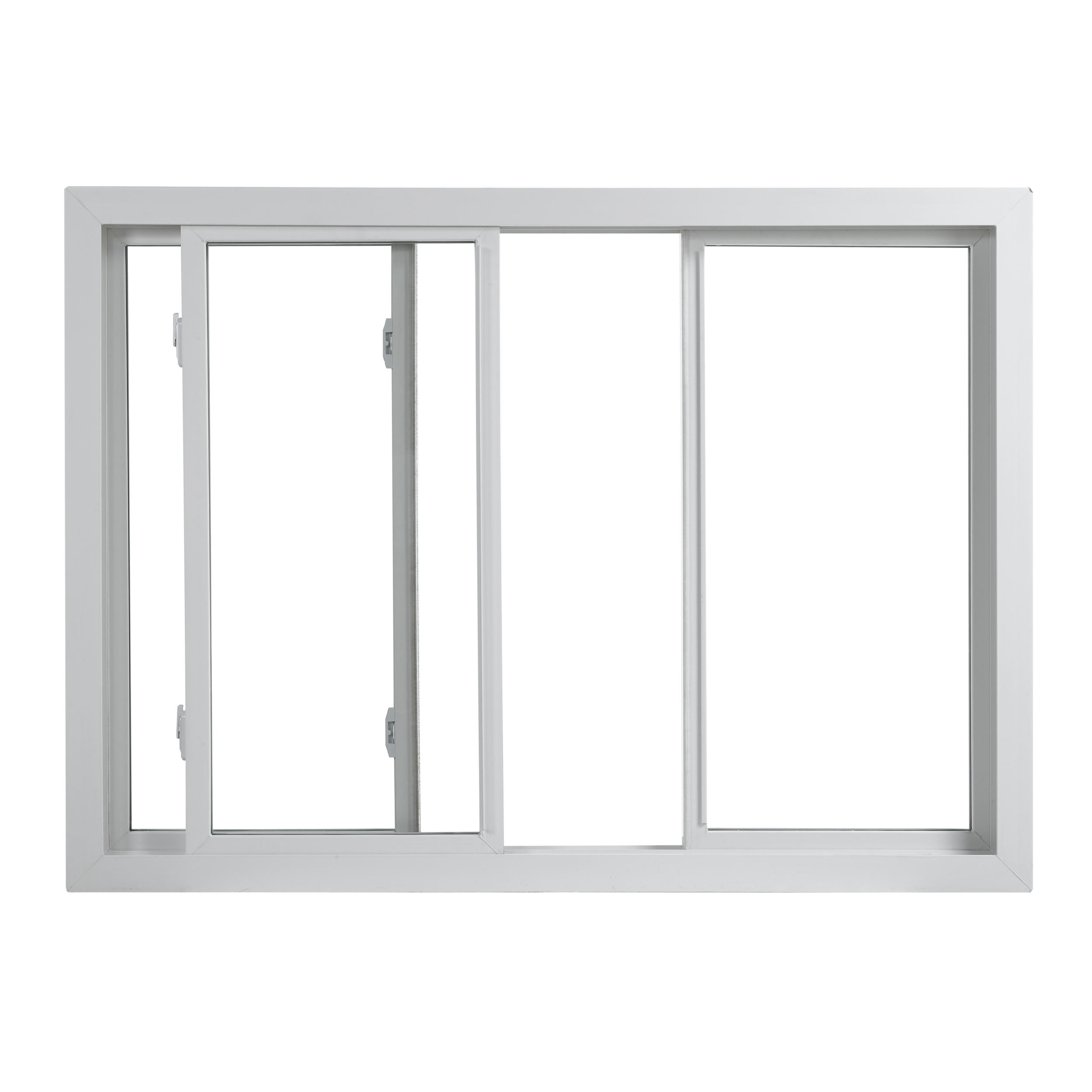 Center Vent Sliding Windows
