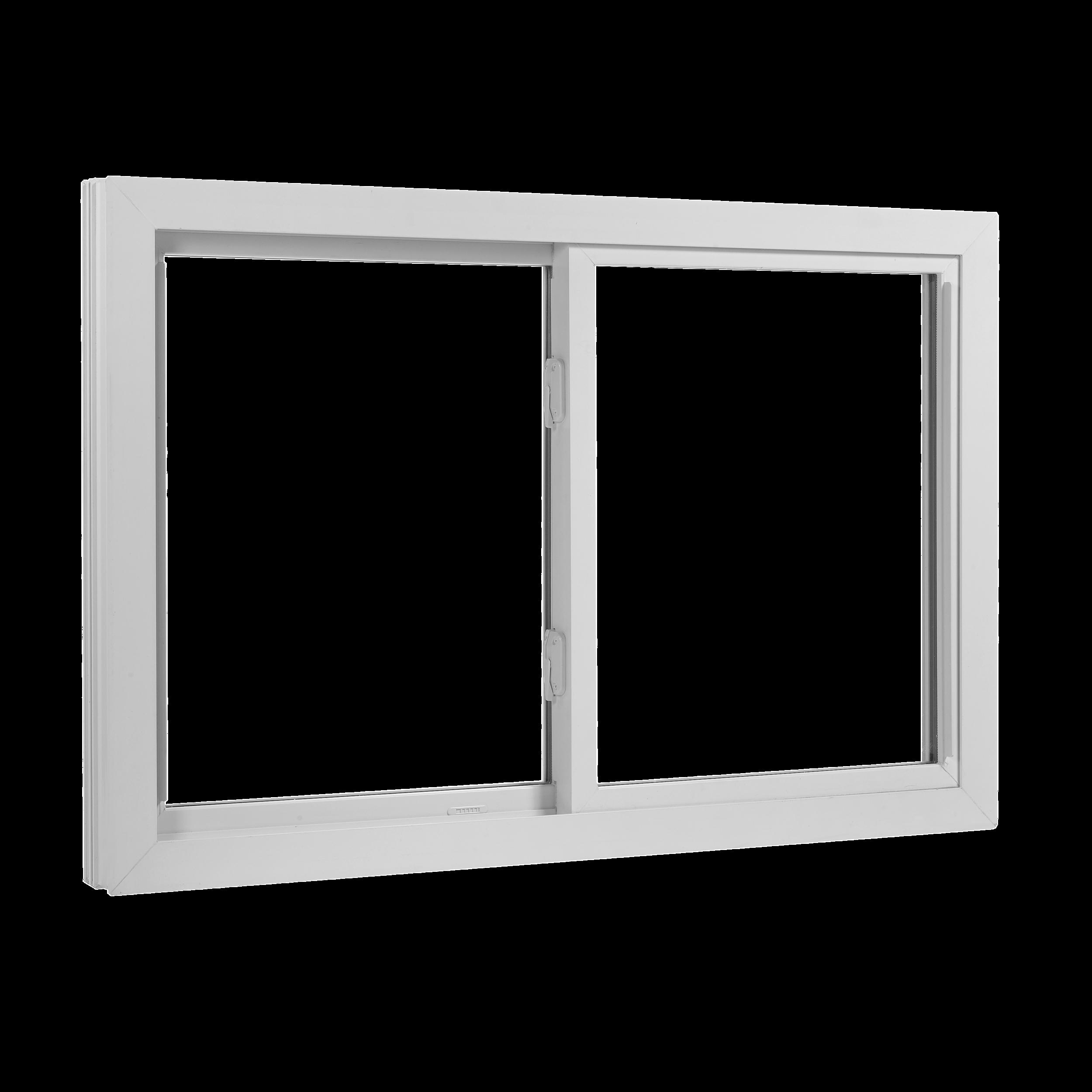 Wallside Windows Double Sliding Window