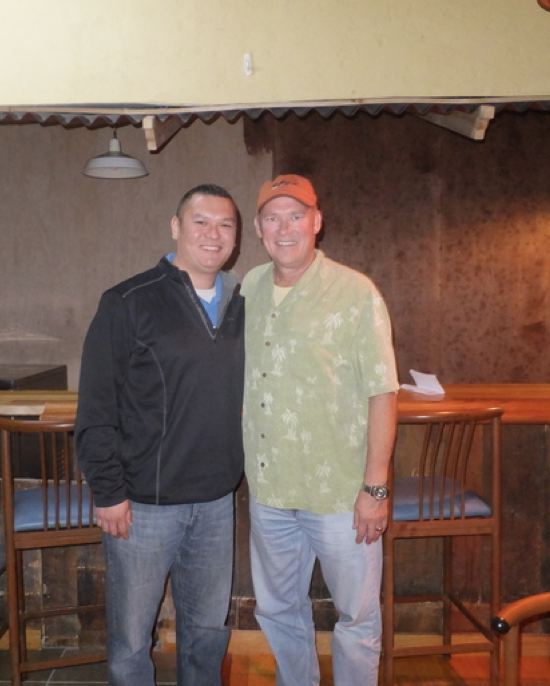 Sales representatives Jason Lampinen and Mark Lampinen (left to right) are among thefather-son teams at Wallside Windows.