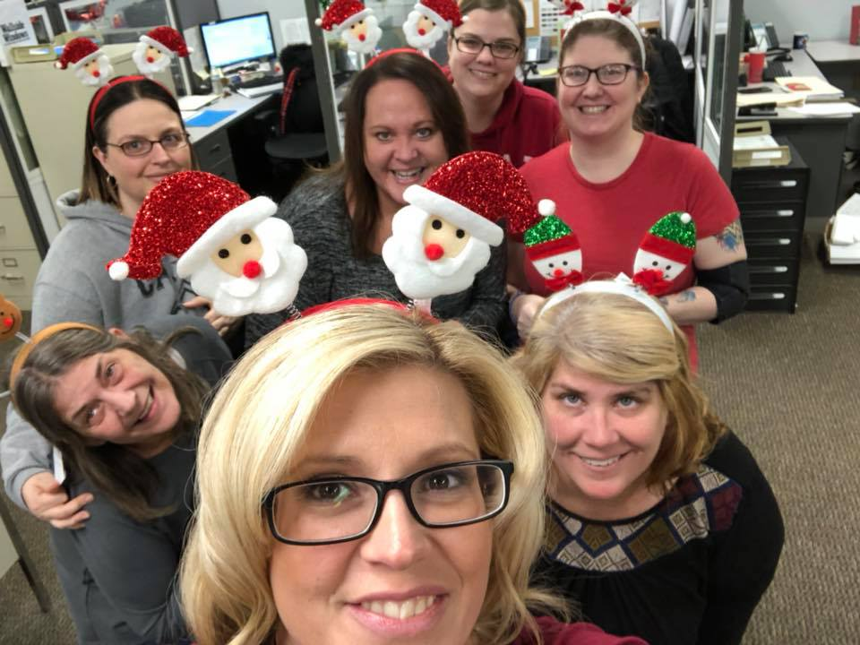Wallside Windows employees get into the holiday spirit and give back to their community.