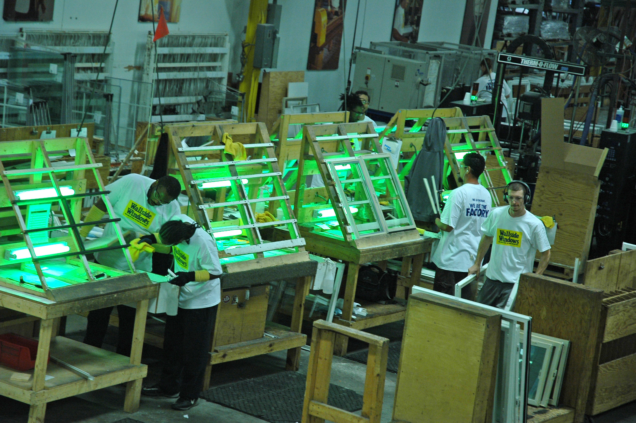 Wallside Windows are made right here in our Taylor, Michigan factory.