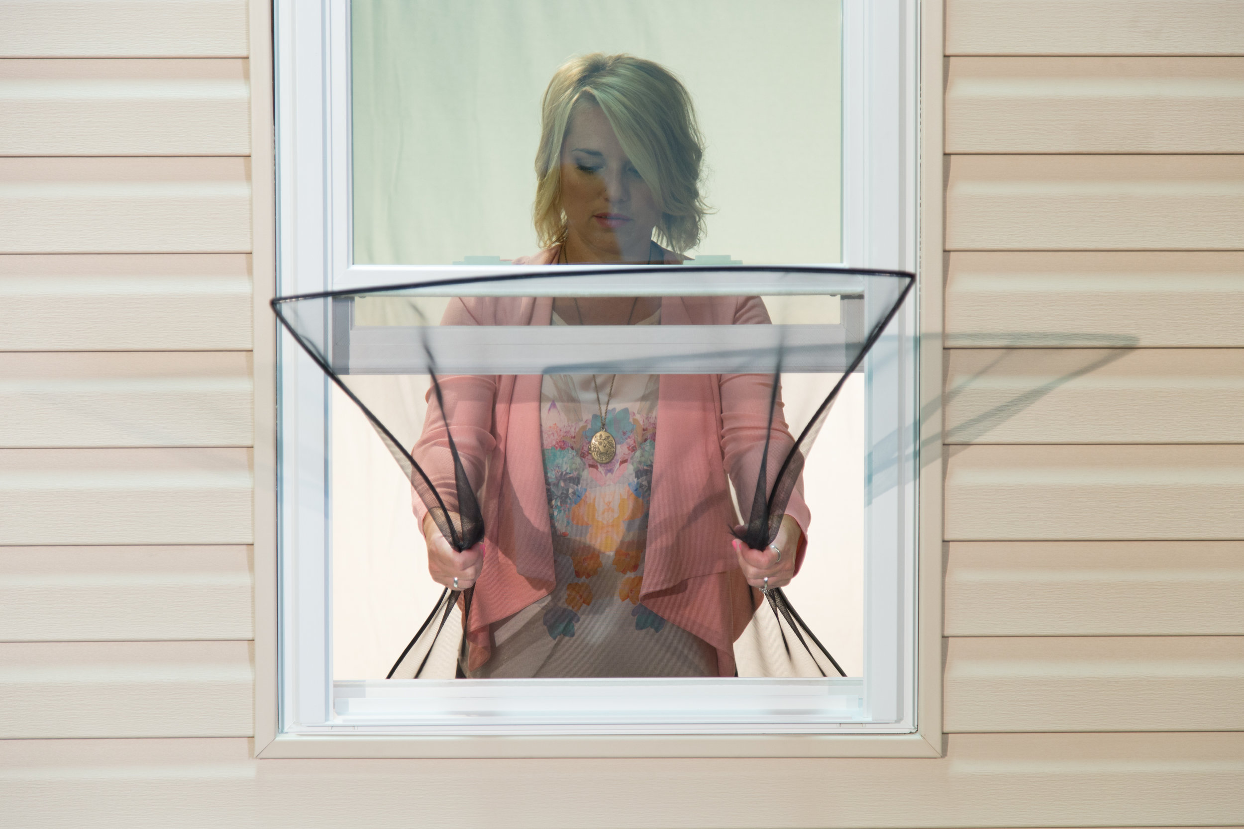 The FlexScreen is the world's first flexible window screen. Find it this spring at Wallside Windows.