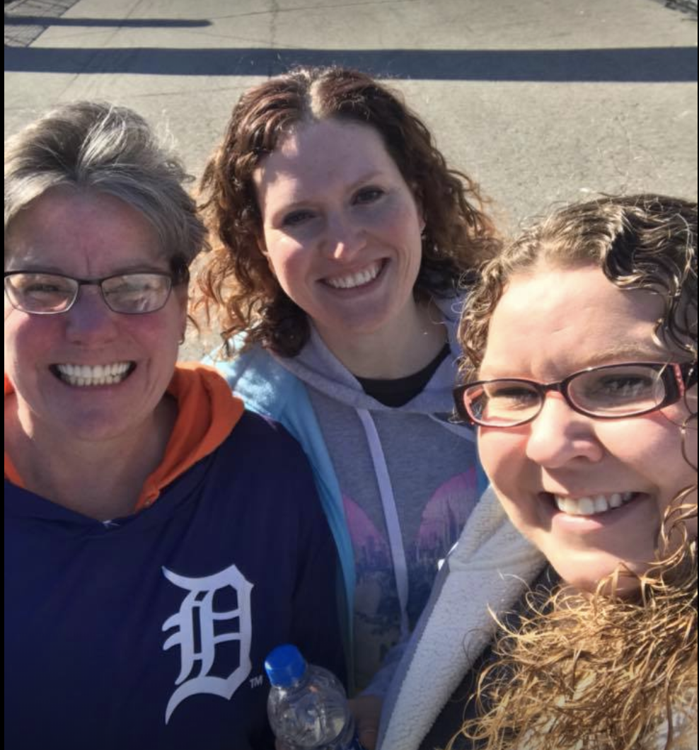 Wallside employees enjoyed the sunshine and each other's company at this year's event, I Ran the D in Comerica Park.