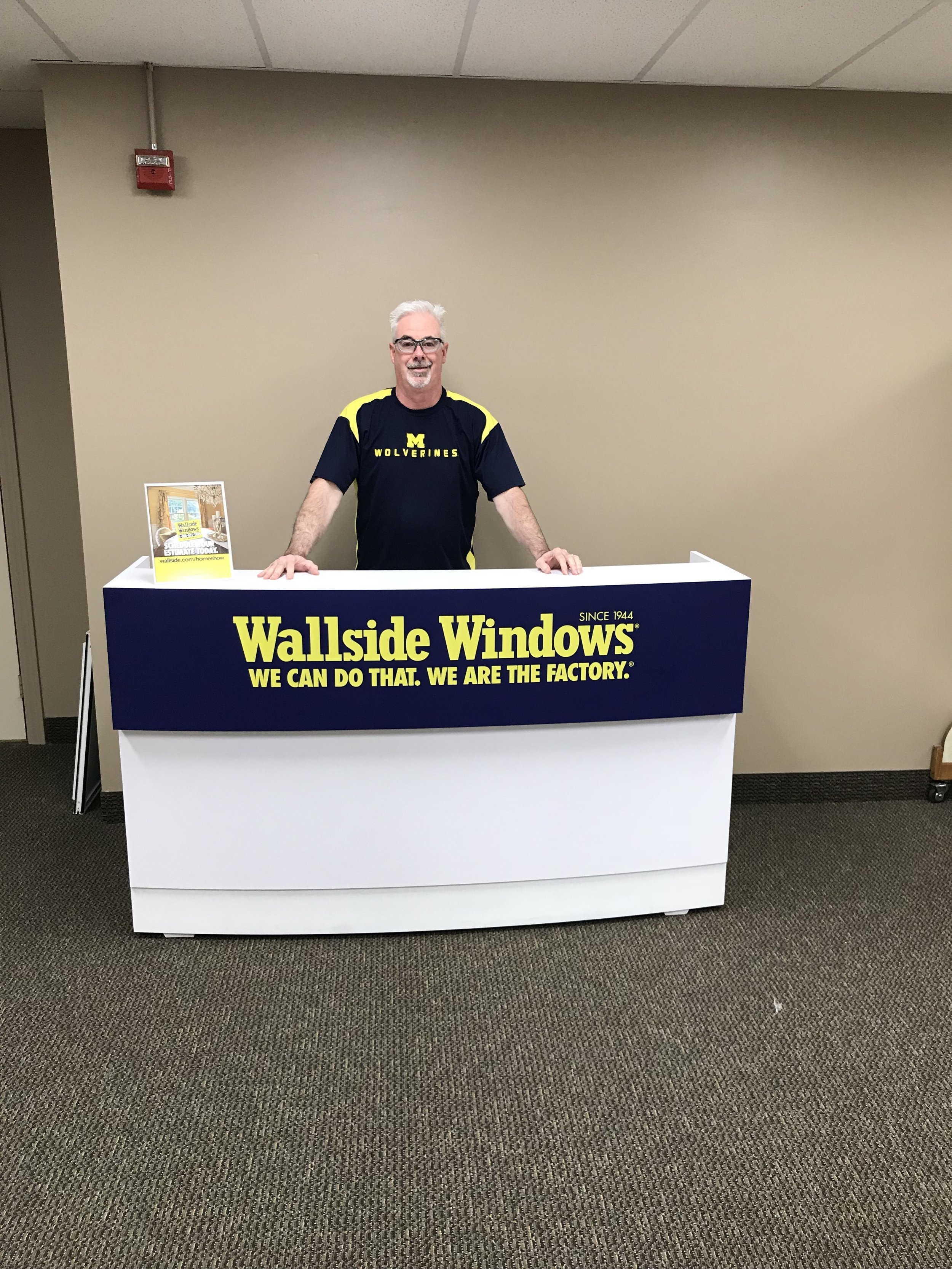 Meet John Dimitroff. He has worked for more than 20 years at Wallside.