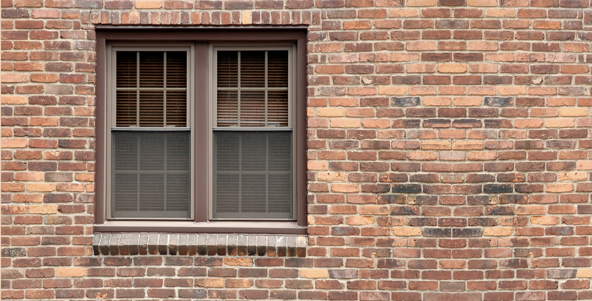 It's also important to keep the exterior of a window clear of debris.