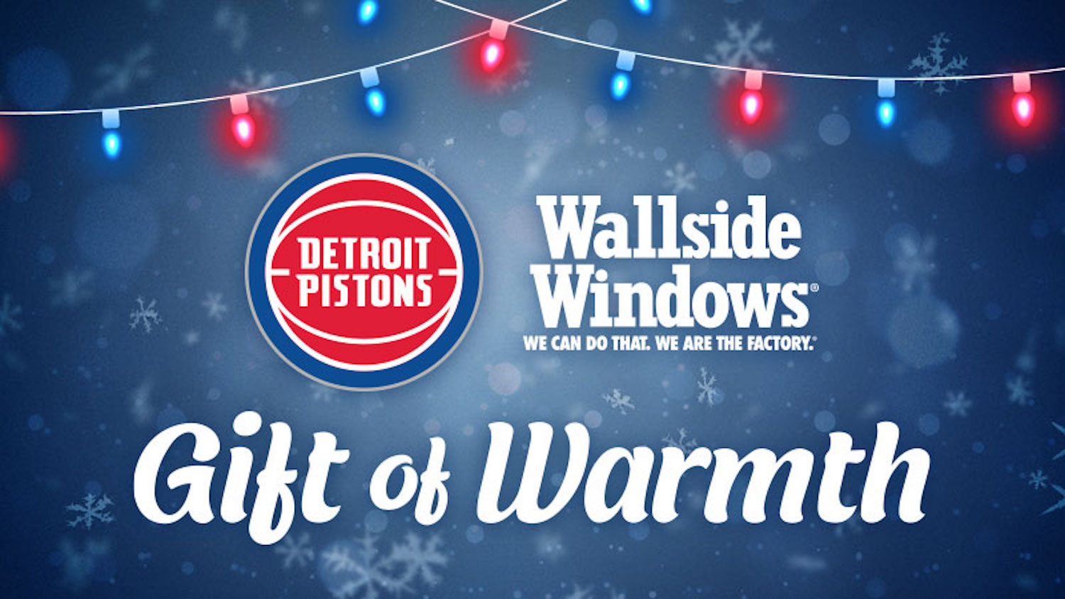 We're working with the Detroit Pistons to give the Gift of Warmth this winter. Nominate a family to win up to $5,000 in new windows while you can.