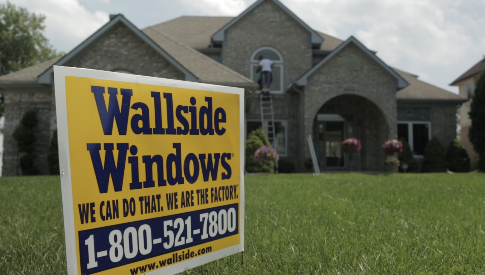 Wallside Windows is working with Wells Fargo to create a never-before seen offer for financing your vinyl replacement windows this year.