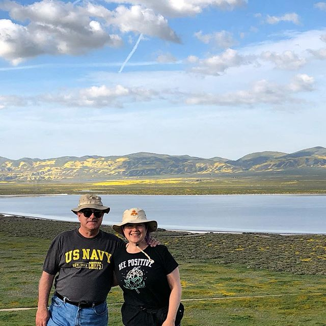 Happy Earth Day! (March superbloom roadtrip on the Carrizo Plain)