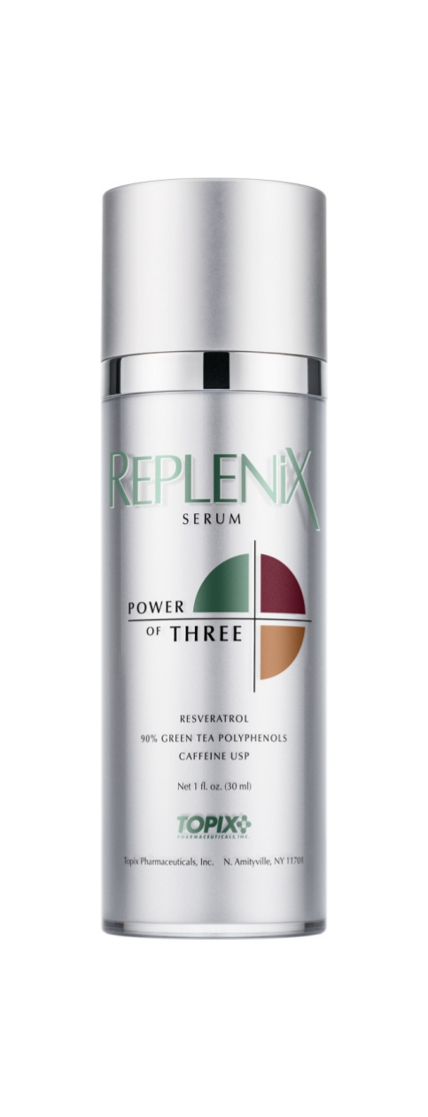 Replenix  Power Of Three Serum   Fight free-radical damage, while reducing signs of wrinkles, fine lines, and puffiness.