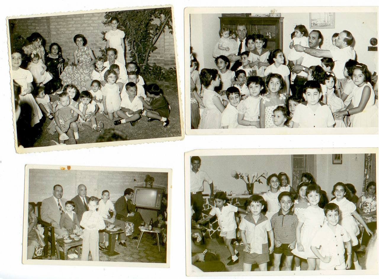 Photos from a party at Cynthia's home in Baghdad