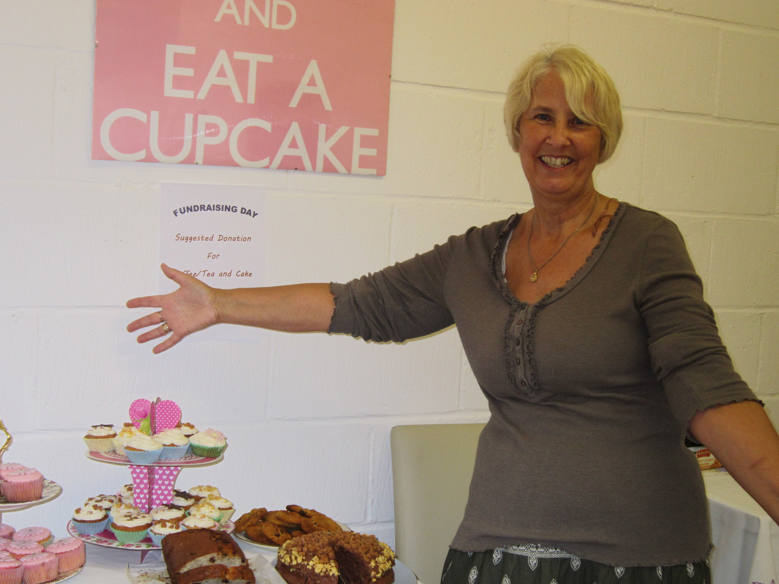 Maureen, our Registered Manager, at a recent fundraiser
