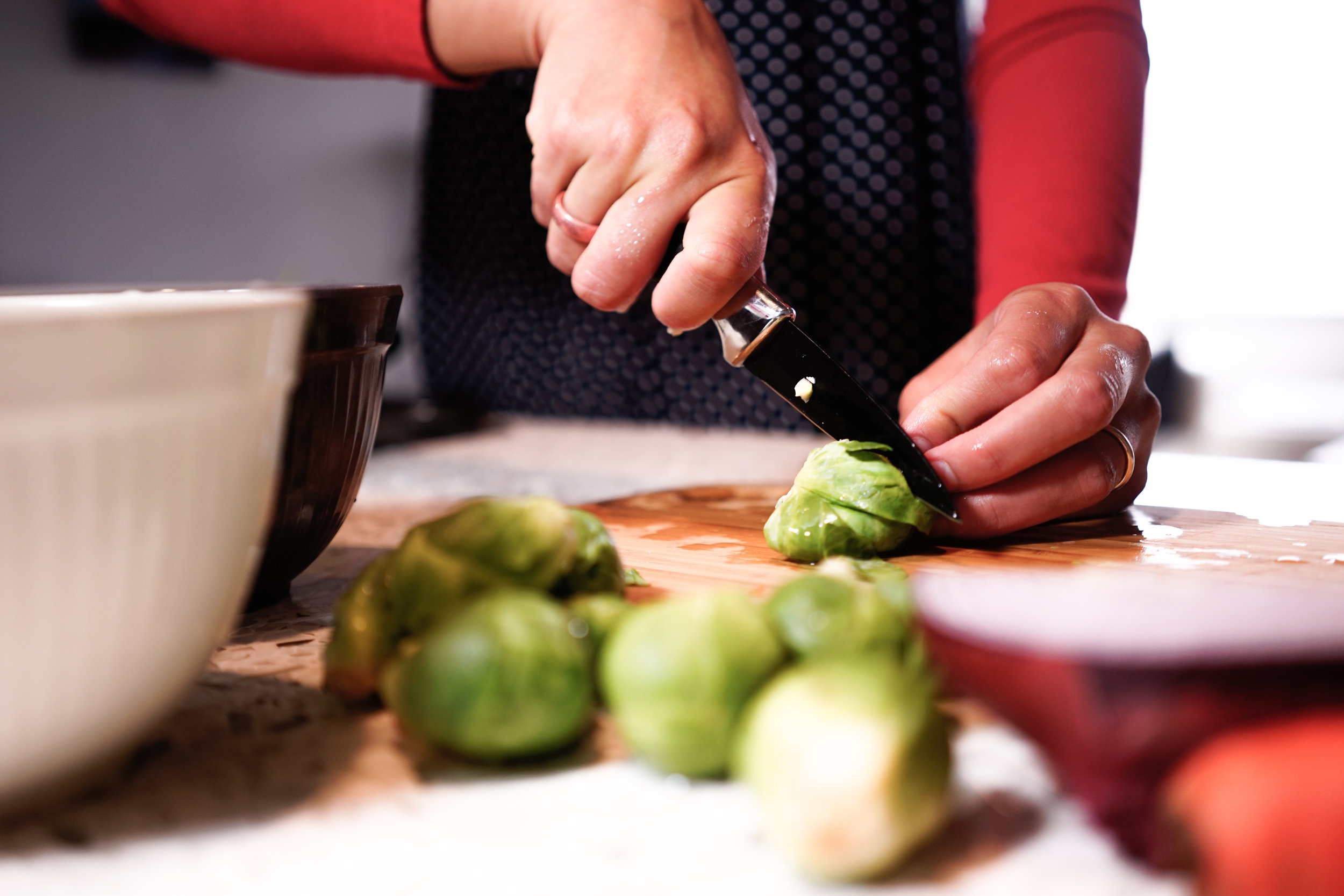 jillian chops brussels sprouts-1.JPG