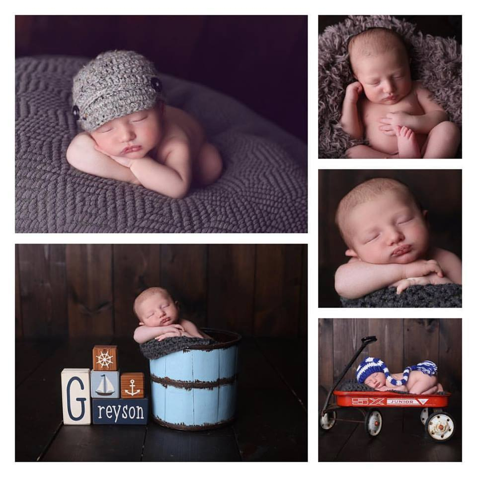 Love these pictures? Book a session for your very own newborn pictures of your new love and joy in your life!