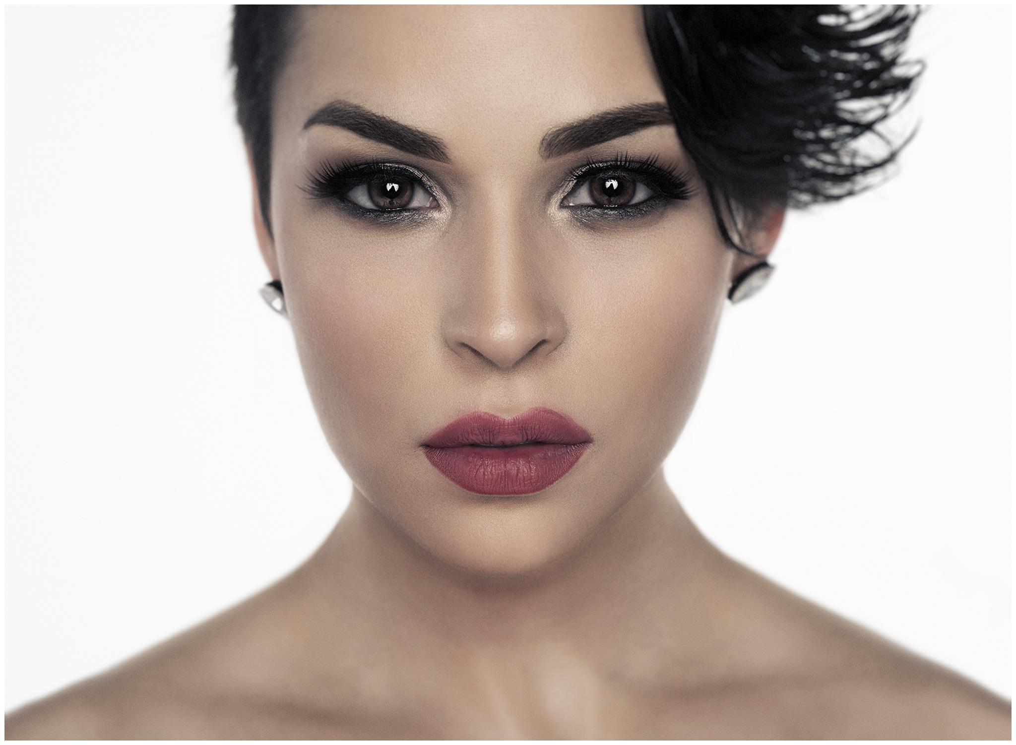 Portrait of Atlanta Model Madeline Suarez by Richard Cawood
