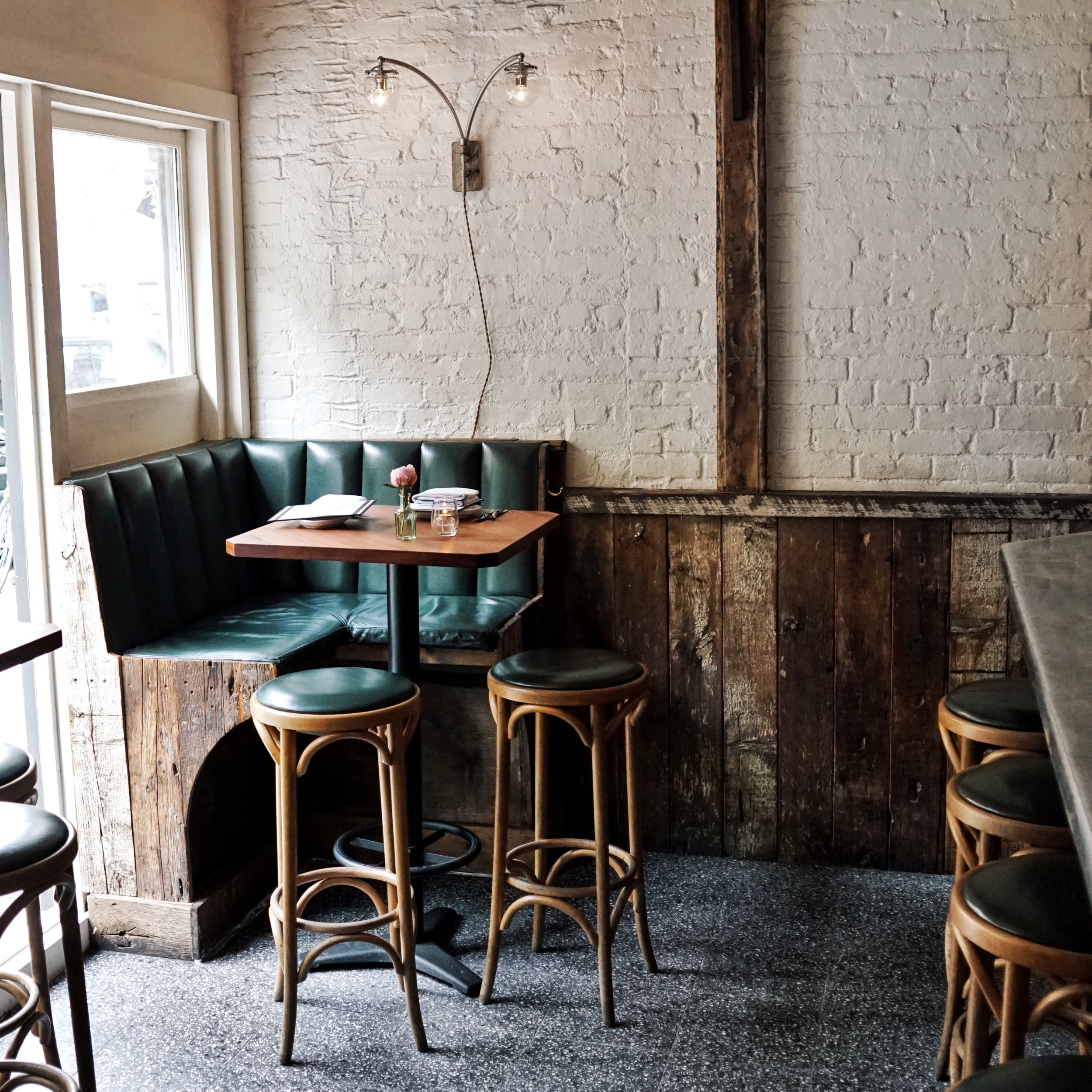 Happy hour seating