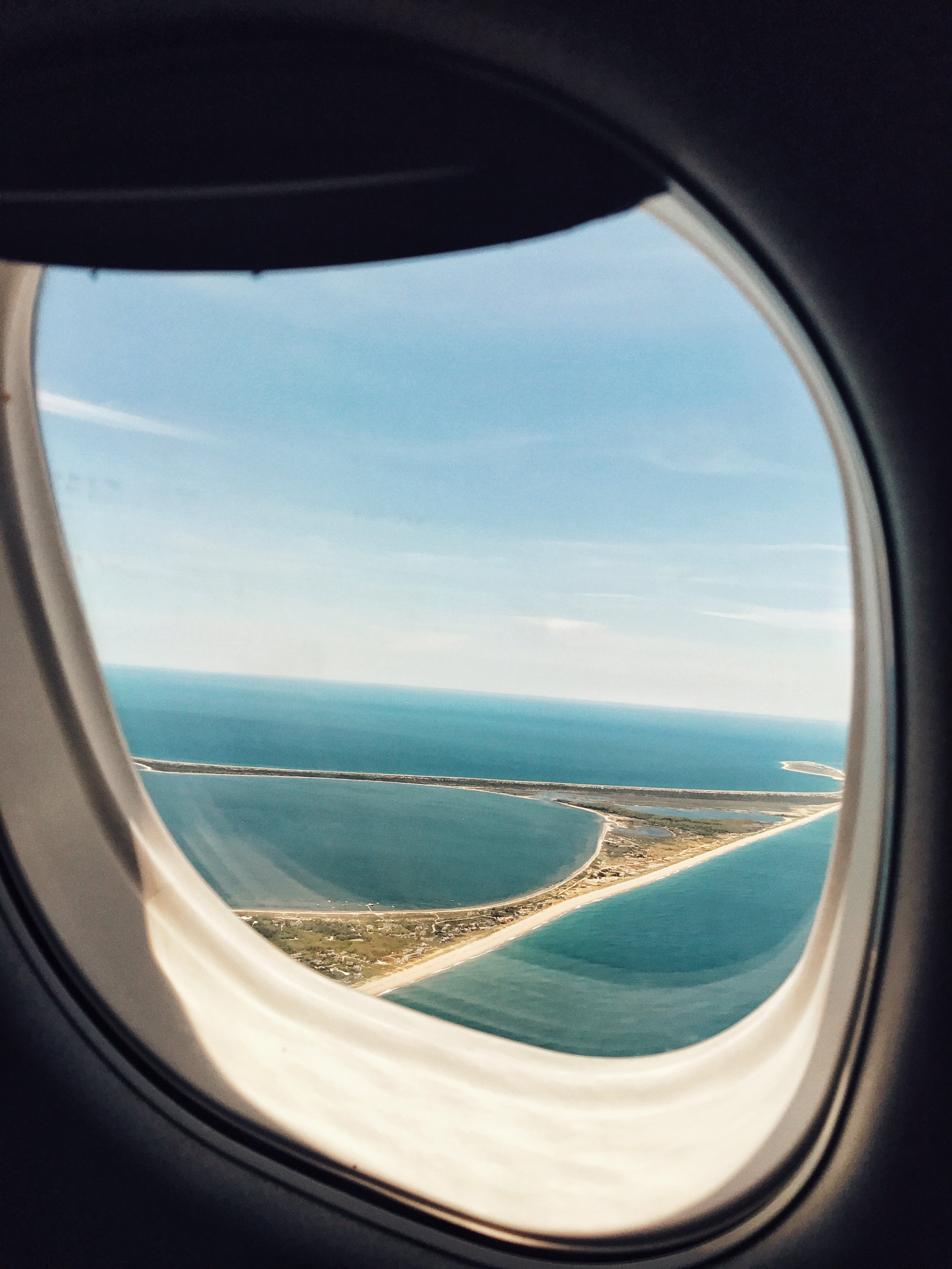 Flying into Nantucket