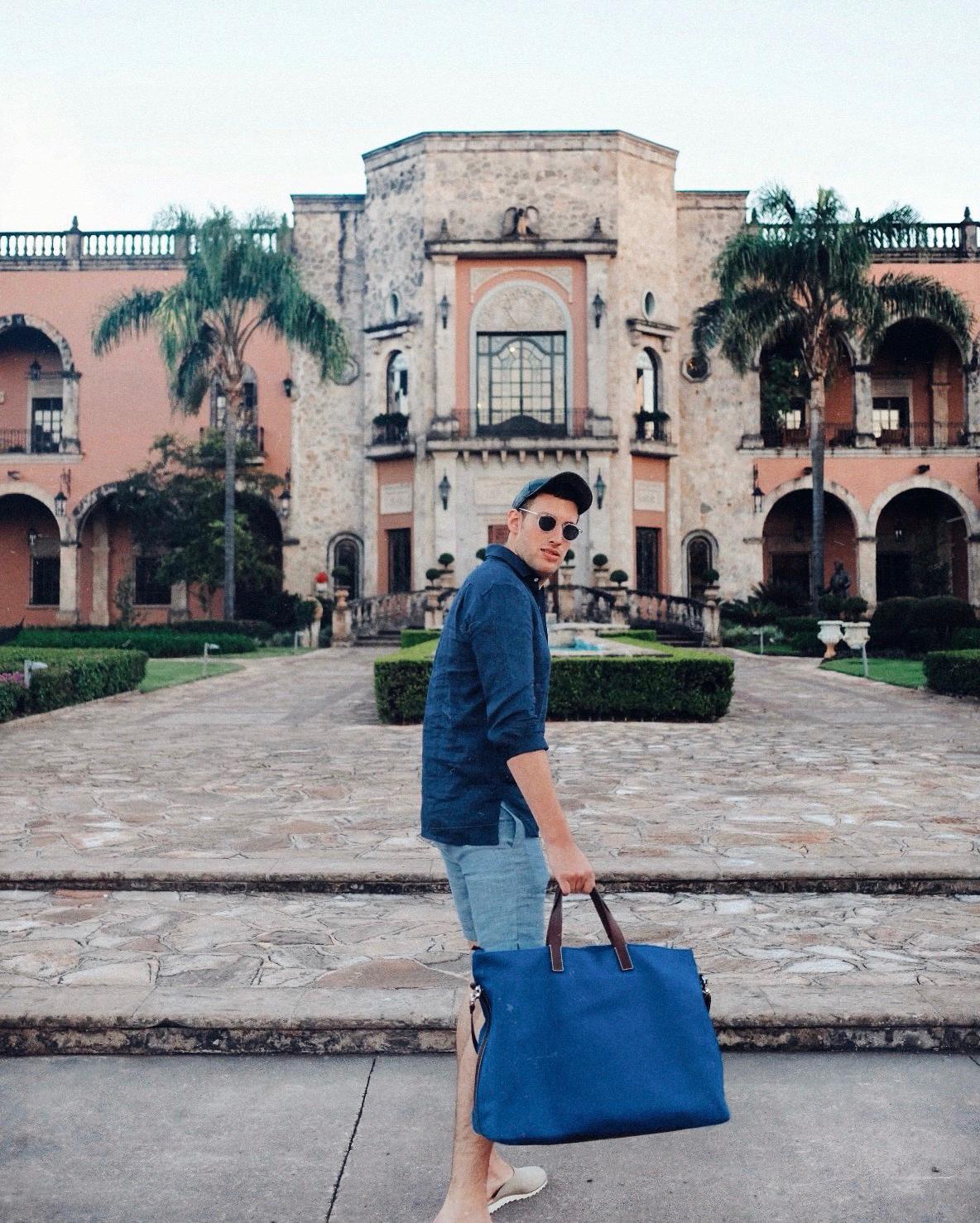 Checking into the Patron Hacienda