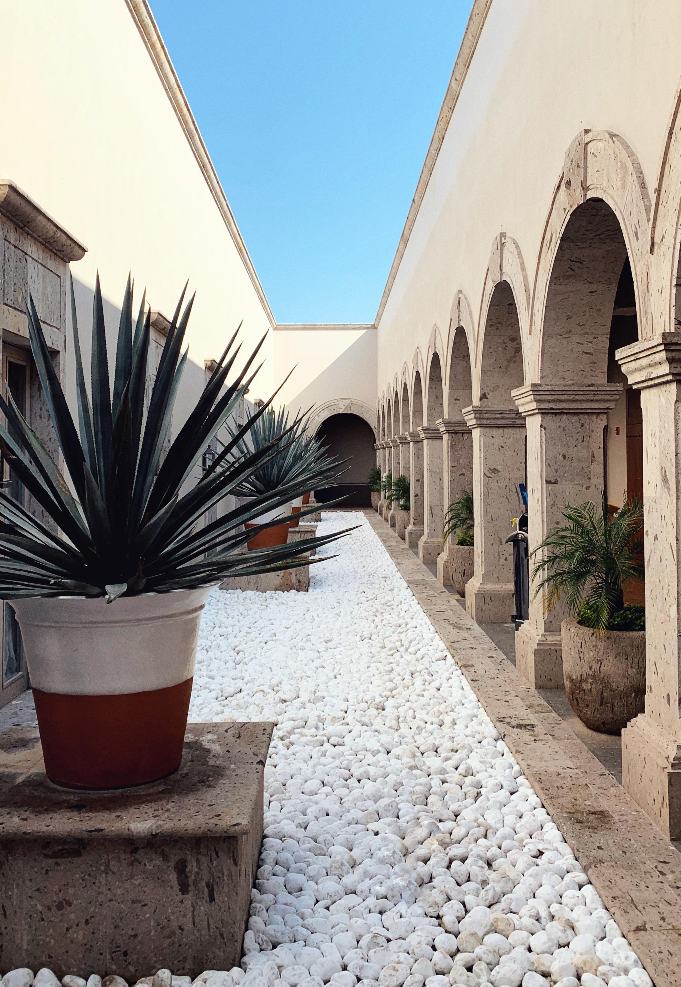 Inside the Hacienda