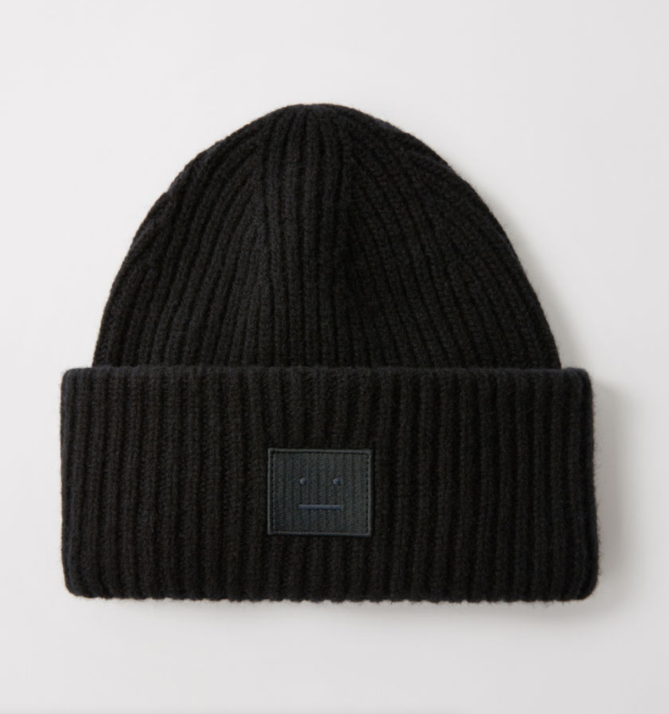 $150 - ACNE oversized beanie   When the weather gets cold, the beanies come out. Give someone a bit of a beanie update with this chunky Acne hat. It's classic, yet gives off a bit of statement (there are a ton of fun colors too)!