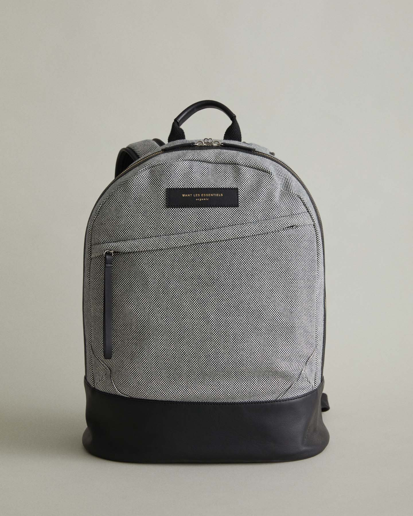 $270 - Want Les Essentiels cotton backpack   A modern backpack that says your not in school anymore. The leather detailing on this bag is also amazing. Sure to turn heads at work!