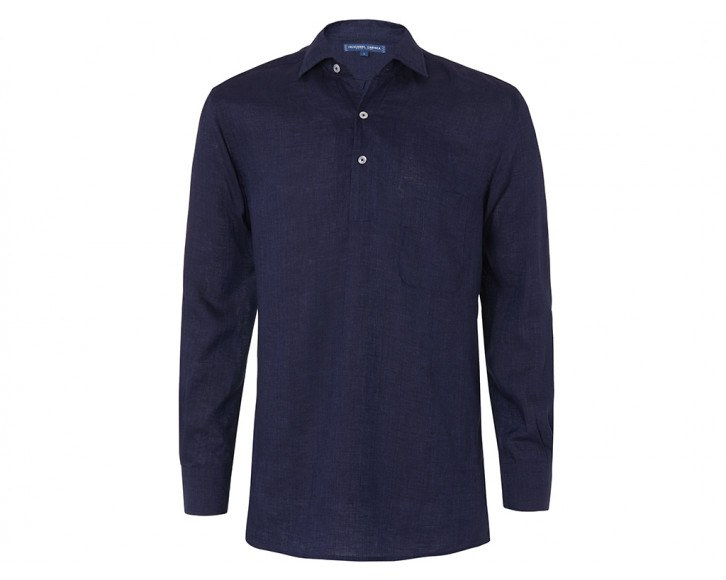 $230 - Frescobol Carioca half placket linen shirt   A half placket shirt can go so wrong, but this shirt gets it right! I own this shirt and would 100% recommend for your next warm weather destination!