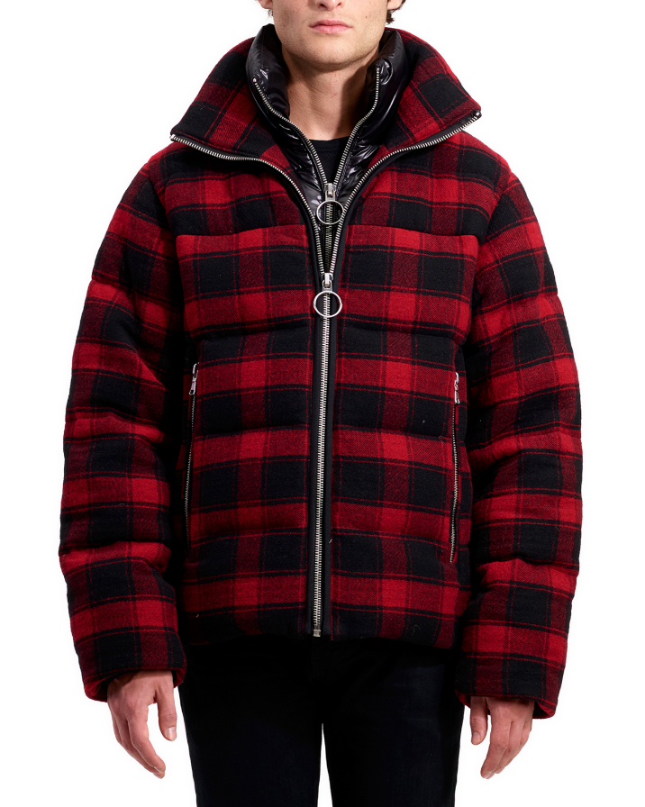 $495 - The Very Warm buffalo plaid coat   If you follow me on Instagram ( @calebthill ), you'll see I post this coat ALL the time! I love the fit and color so much. It's also incredibly warm. This brand is pretty new, but everything they do is spot on. The perfect gift for someone that lives somewhere cold.
