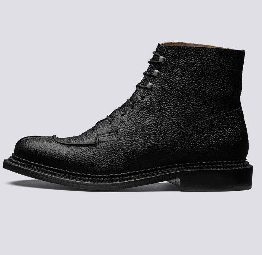 $660 - Grenson Grover triple-welt boot   I've had these boots for a few months now and they're seriously amazing! The quality is incredible and they look good with anything!! Any guy needs a great pair of black boots in their wardrobe. 100% worth the $660 price. These will last for years.