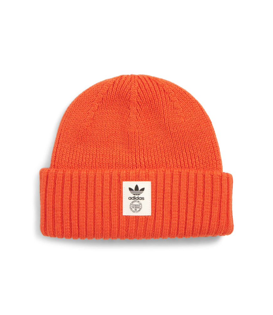 $35 - Adidas bright orange beanie   I love a good statement piece, and this bright orange beanie from Adidas will make any look stand out.