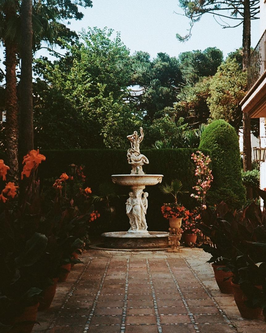 Private garden in Tossa De Mar, Costa Brava!