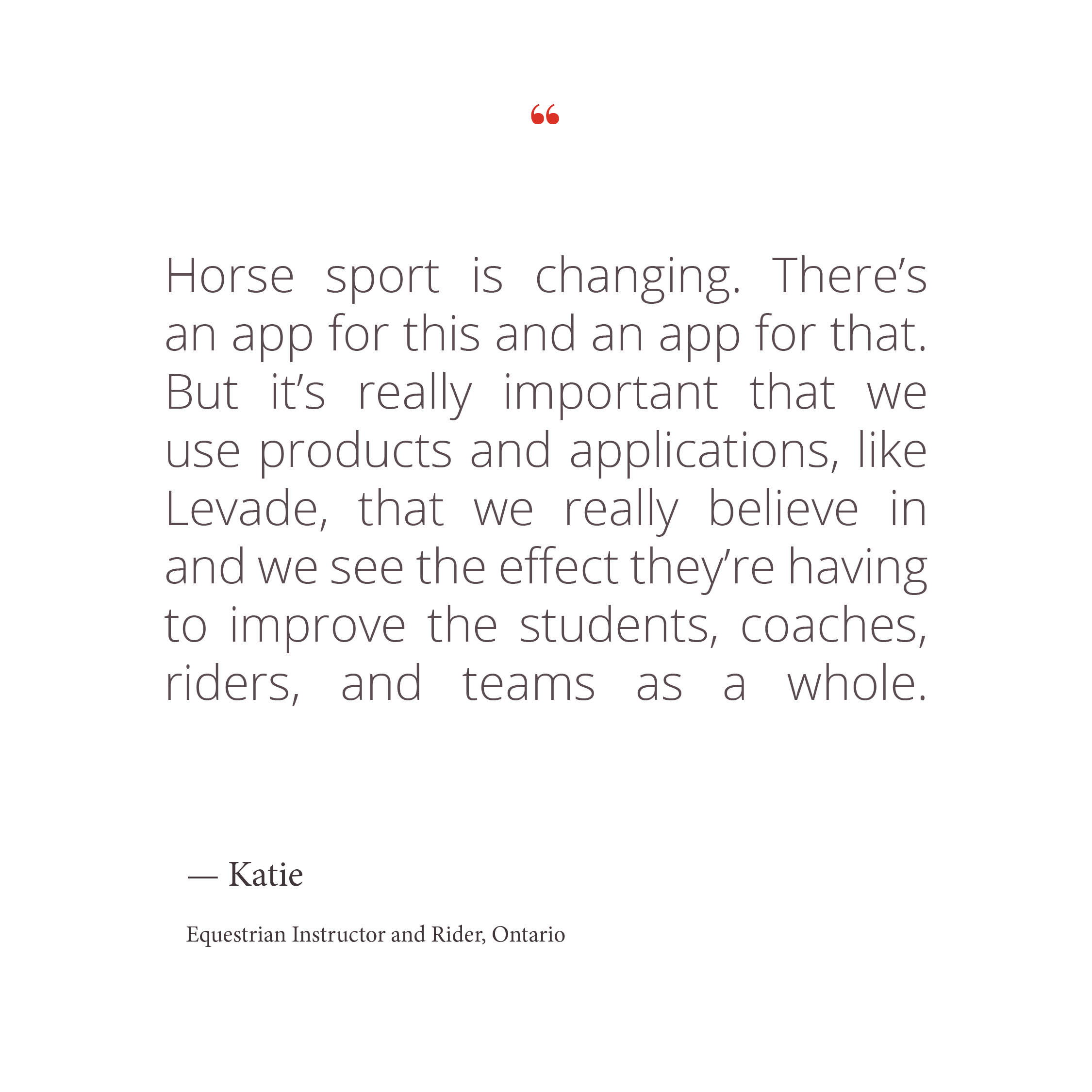 Product Features — Levade Equestrian App