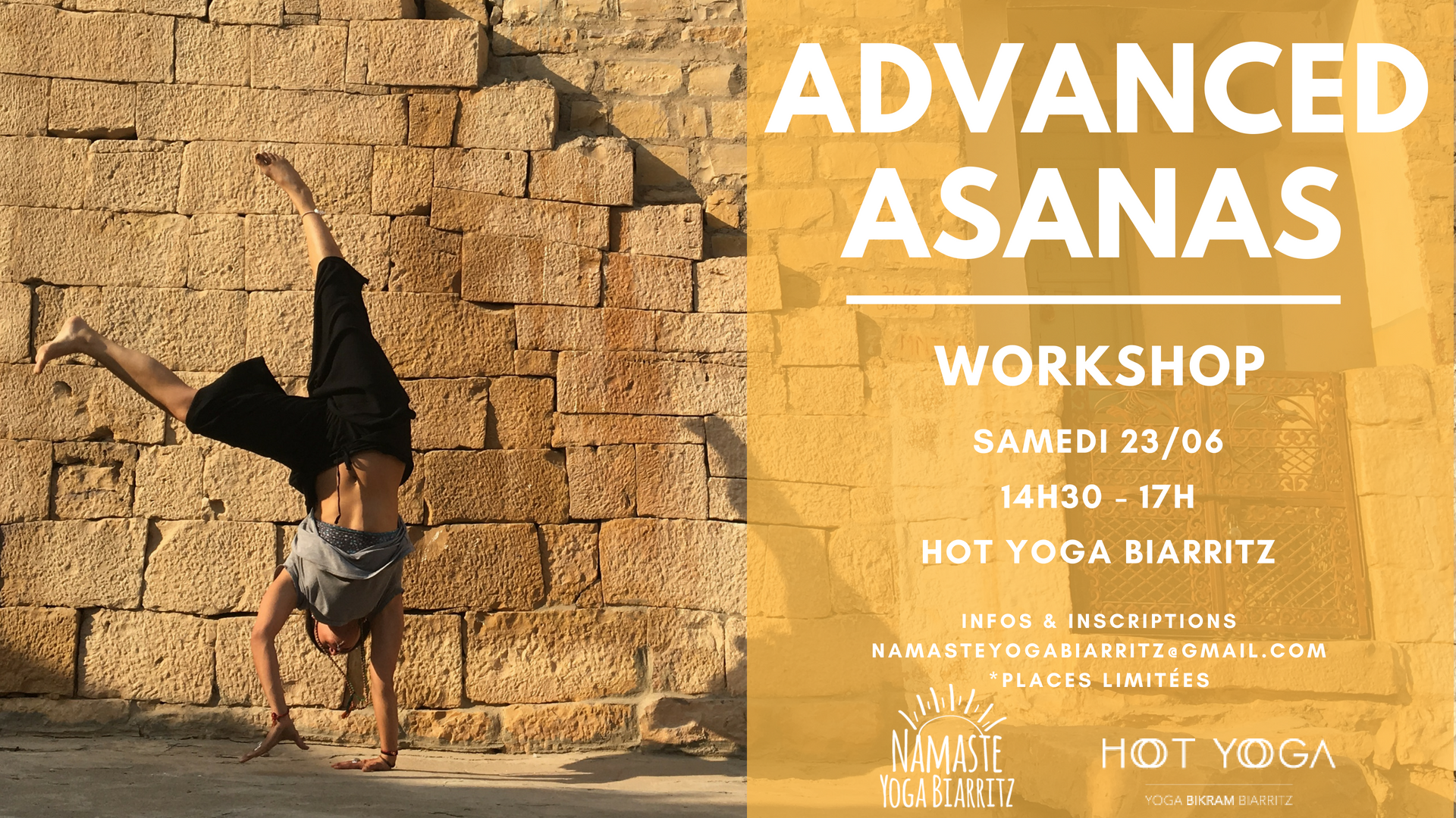 Advanced Asanas Workshop