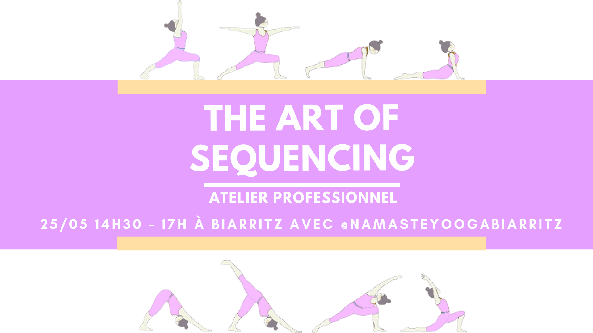The Art of Sequencing Workshop - Atelier professionnel
