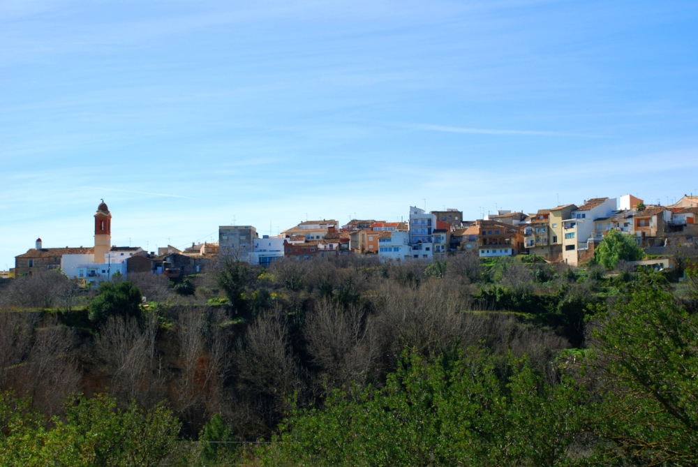 Ayuntamiento de Alborache - Panoramica.JPG