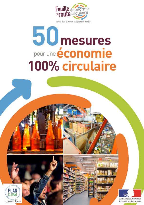 50 MEDIDAS POR UNA ECONOMÍA 100% CIRCULAR. FRANCIA