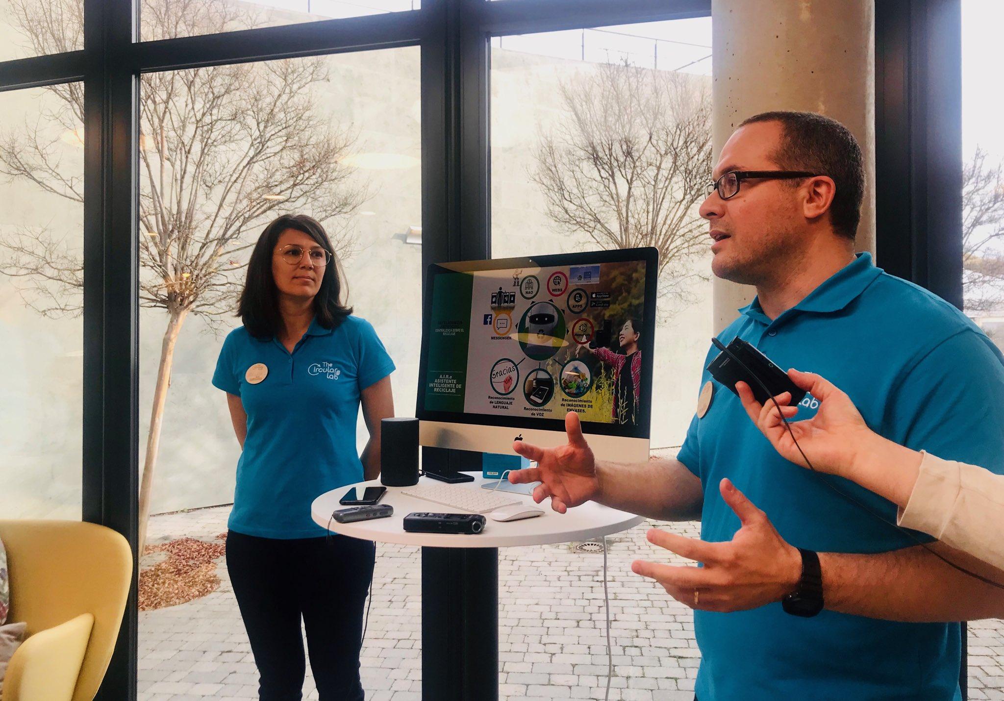 Presentación de A.I.R-e, el primer asistente virtual sobre el reciclaje de envases.