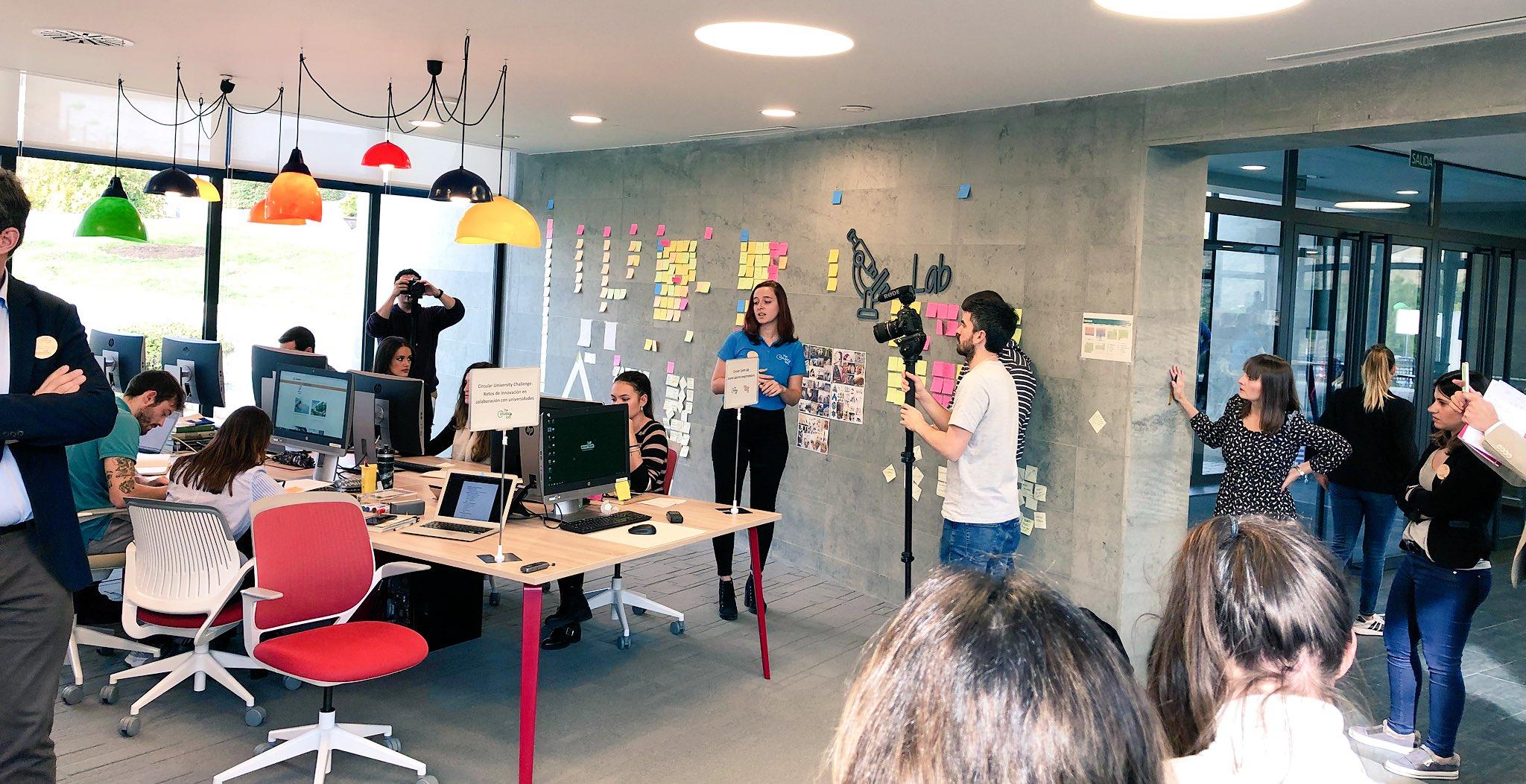 El Circular Talent Lab, espacio destinado a los jóvenes talentos emprendedores.