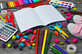 School Supply Lists - Each grade level has a basic supply list. Once school starts, the teacher may request additional supplies depending on the project / subject being taught.(Learn more)