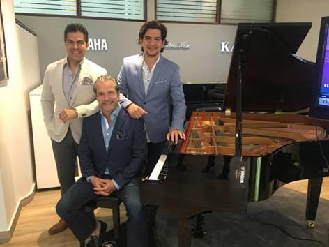 (De izquierda a derecha: Adlan Cruz, Francisco Paz, y Stevan Micheo)