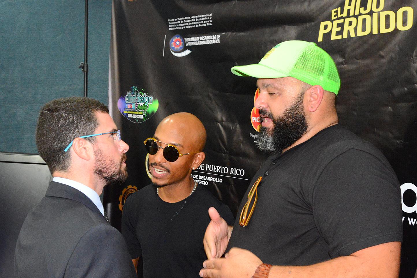 Licenciado Pedro Piquer Henn, Aniel Rosario y Erick Rodríguez
