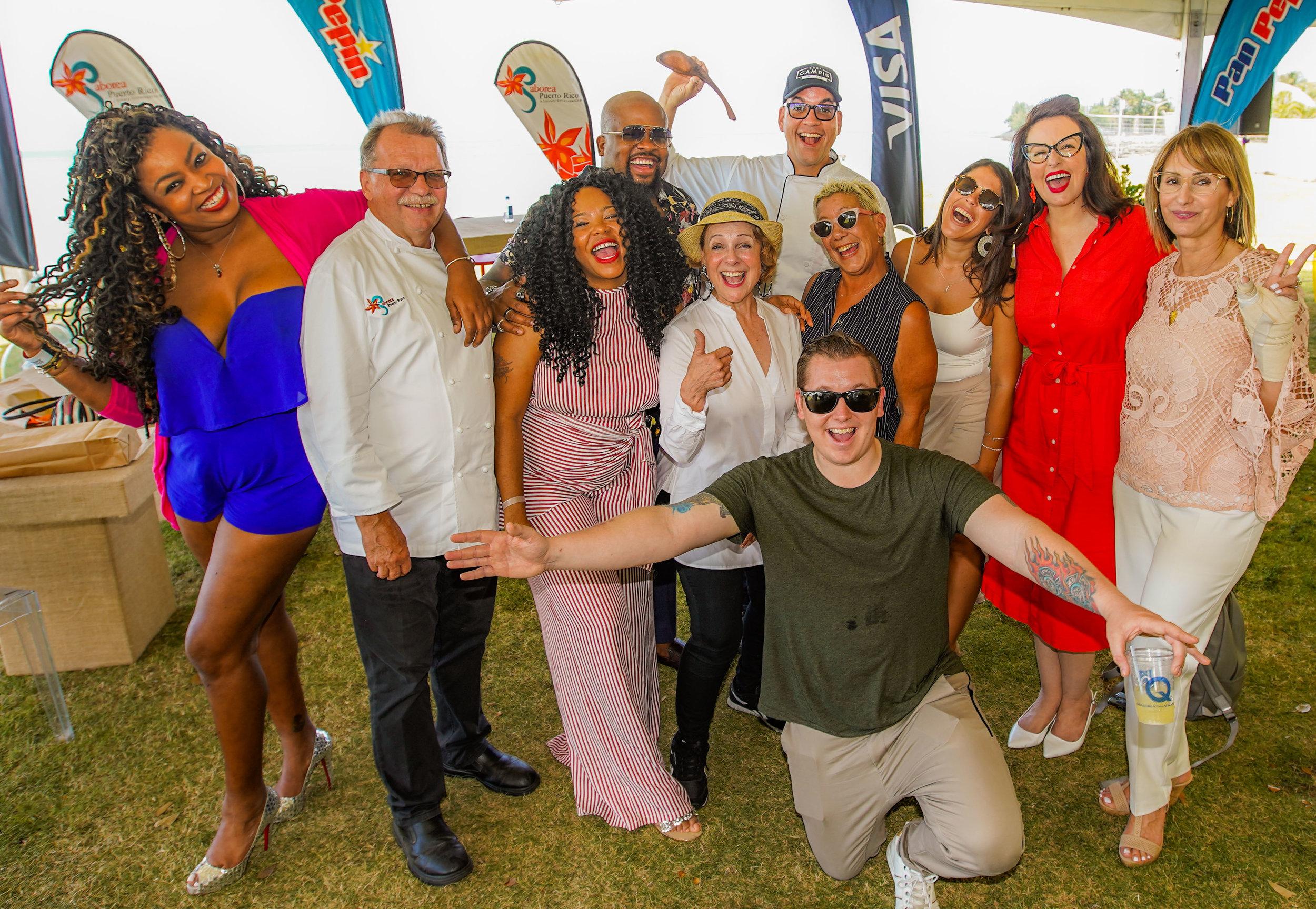 Joe Colon Studio, Inc. All Rights Reserved. 2019 / Celebridades a presentarse en Saborea Puerto Rico 2019
